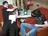 drunk trio bisexual bareback sex