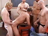 School for adults with creampie