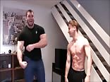 playful muscle dom 1