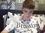 Twink uncut cock webcam dildo