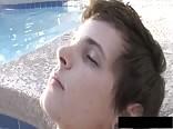 AA Vid - Cute pool boy