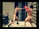 boxing match nude sports