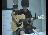 guitar playing cutey