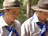 5 Scouts Jerk and Cum Gay Porn Videos