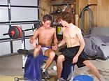 gay tube fit boys work out and then fuck