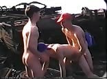 Golden Boys - Gay Porn Videos The junk yard Dogs