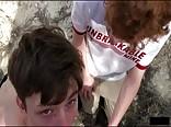 AA Vid - Gay porn twink boys barebacked outdoors