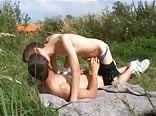 public park teen boy and his friend porn outside